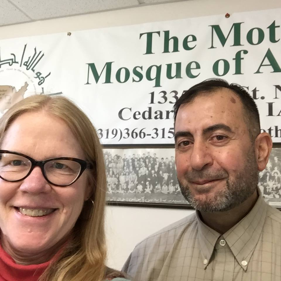 Selfie with the Imam!
