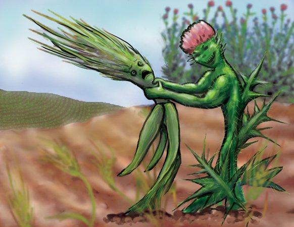 Ugh! Weeds!!
