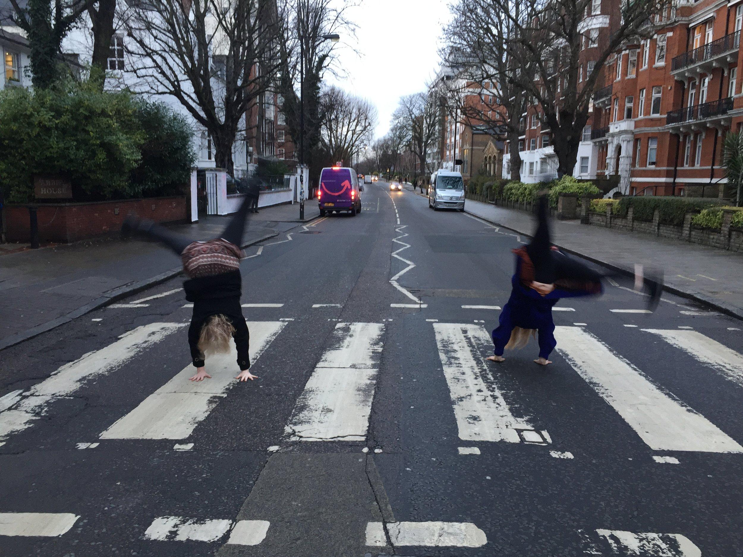 Abbey Cartwheel, London.