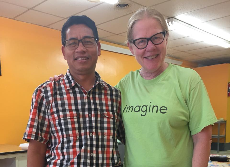 Did you know 1/4 of the population of Columbus Junction is Burmese? I enjoyed the most delicious Burmese restaurant and delightful pastor of the Baptist Church whilst there!