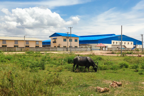 Cambodian Industrial Zone