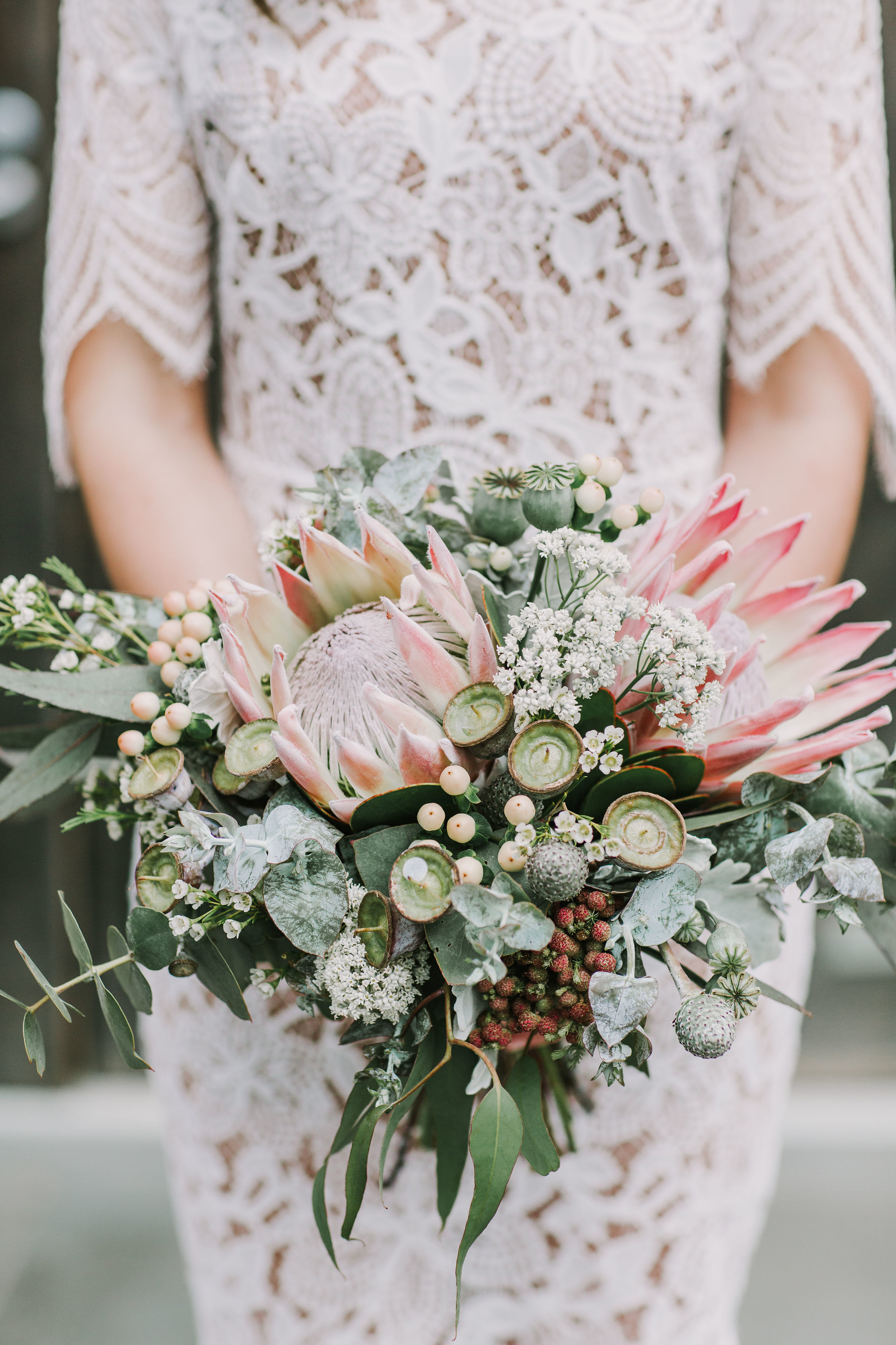 Pay homage to Australian botanics with a native bouquet. Image credit:  Anitra Wells Photography.