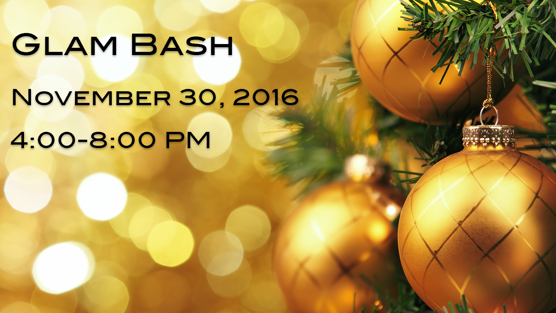 November 30, 2016 from 4-8pm at Esthetics813, 2748 Windguard Cr, Suite 102, Wesley Chapel, FL 33544