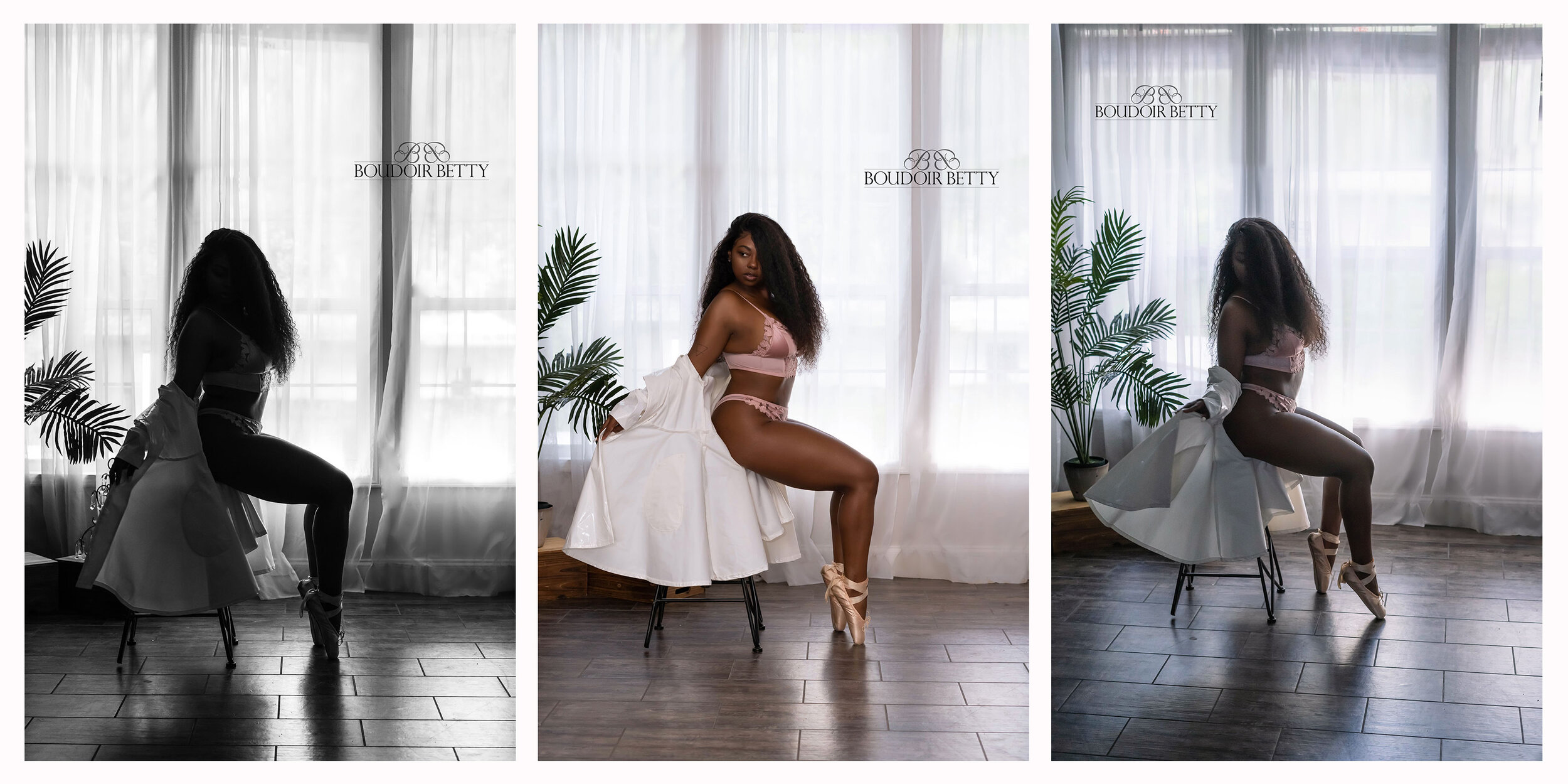 #boudoironpointe #balletboudoir #blackballerina