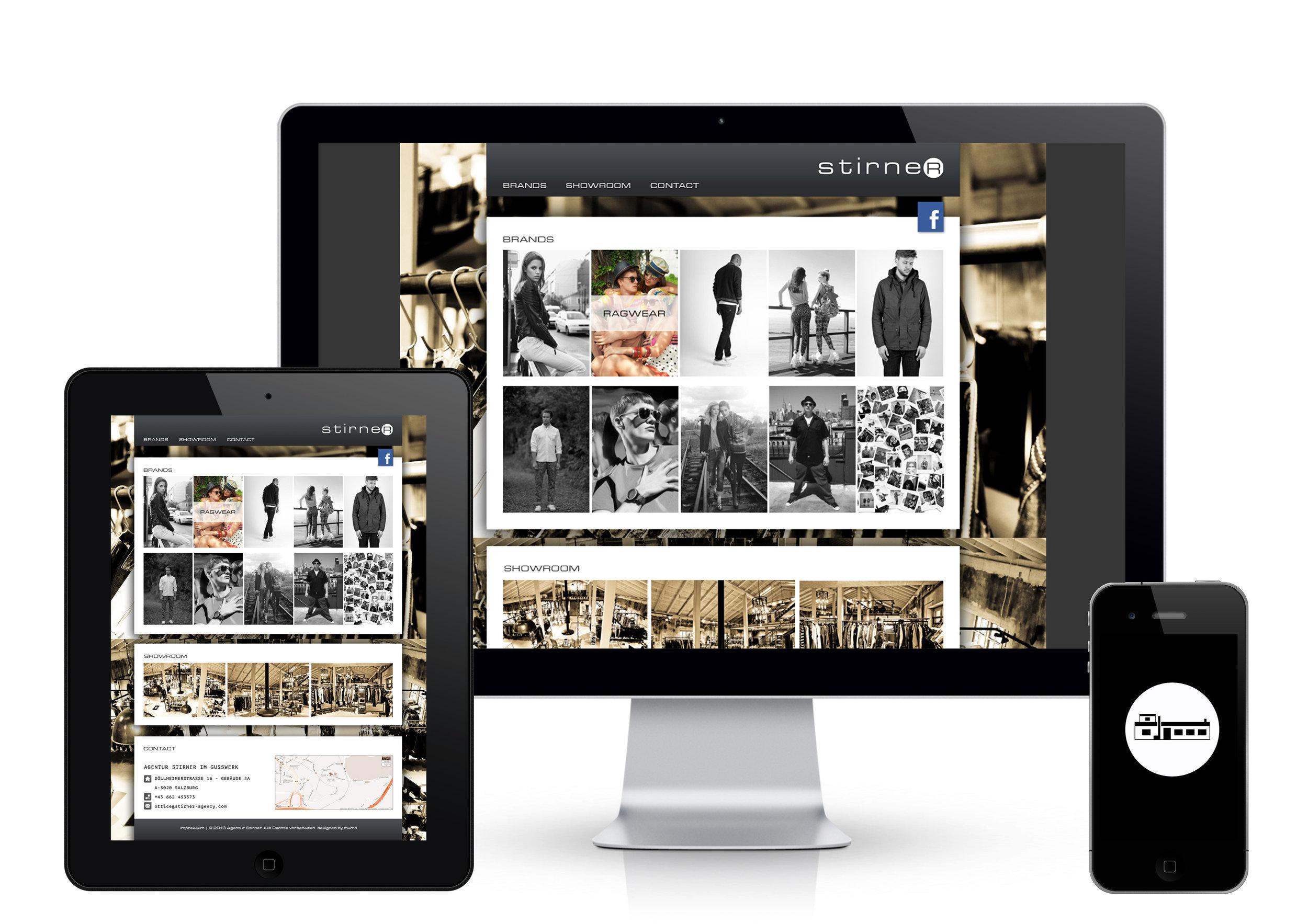 MAMOWORKS. Stirner Agency. Corporate Design Web Design Fashion Photogrphy. Maximilian Moosleitner. Salzburg. Austria