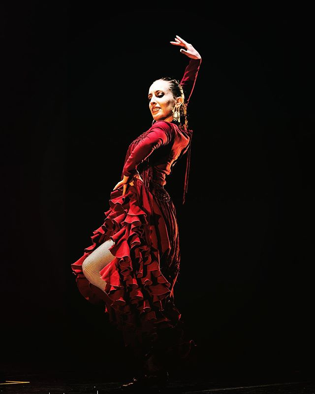 "Another shot by @davidcharnack from ""encrucijada"" with @caminosflamencos"