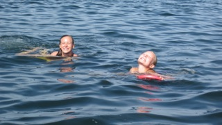 Swimming August 2012