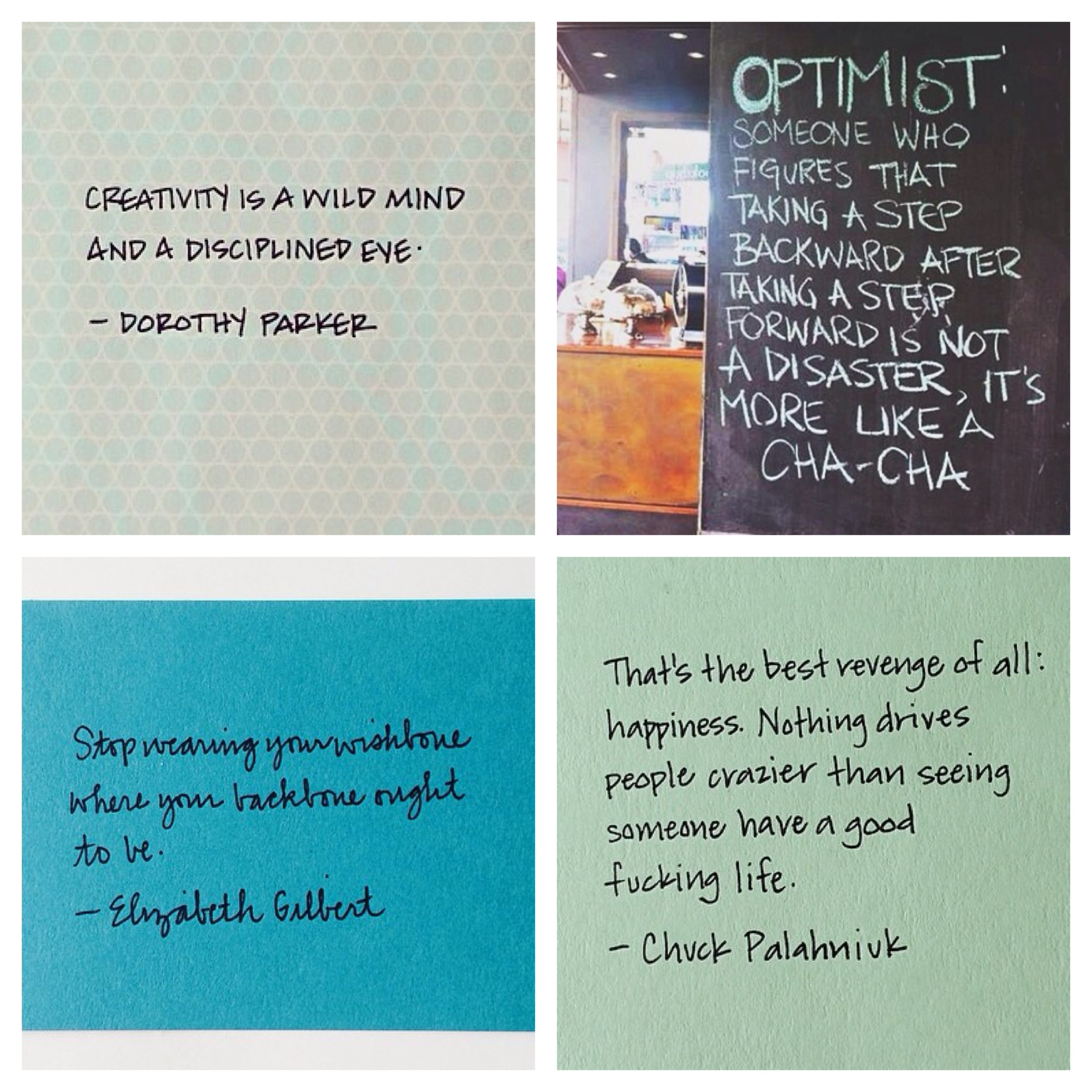 Images via (clockwise from top left):  Design Crush ,  Dear Lizzy ,  Design Crush , and  Design Crush