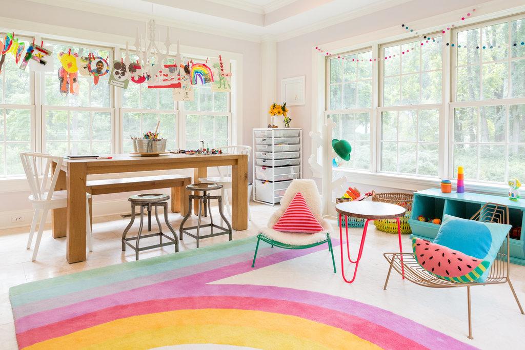 Image via  Popsugar .Design by Melisa Fluhr of  Project Nursery .Photo by  Charlie Juliet Photography .