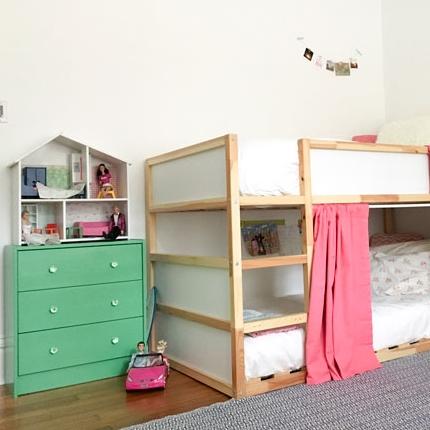 shared girls' room