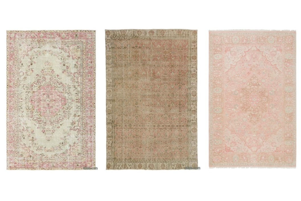 pink rugs  1  /  2  /  3