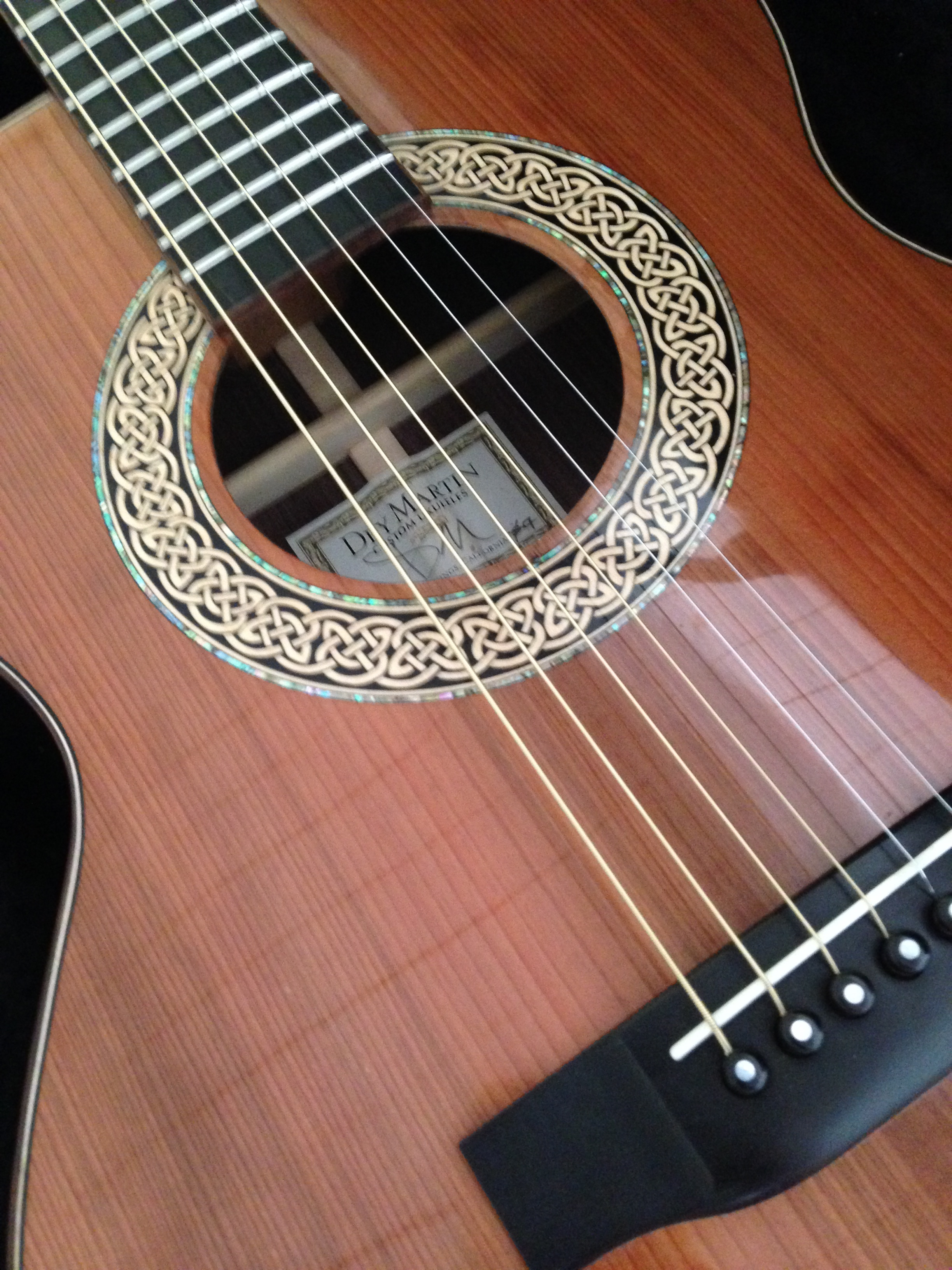 00DM Custom Steel String Guitar 2013