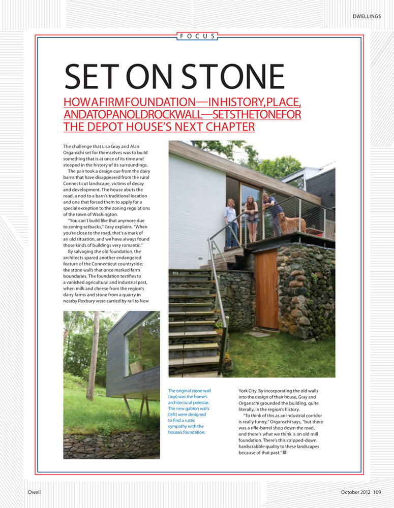 Dwell Feature Story- October Issue