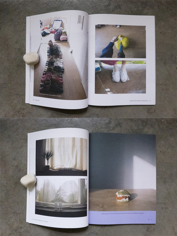 Semi Private Life in Helsinki   is a visual journal in four parts. It documents the every-other-day life of the artist during her years in Finland.  SEMI PRIVATE LIFE IN HELSINKI (Autumn issue) 95 Pages Perfect-bound Paperback 190 x 245 mm Full Colour Offset