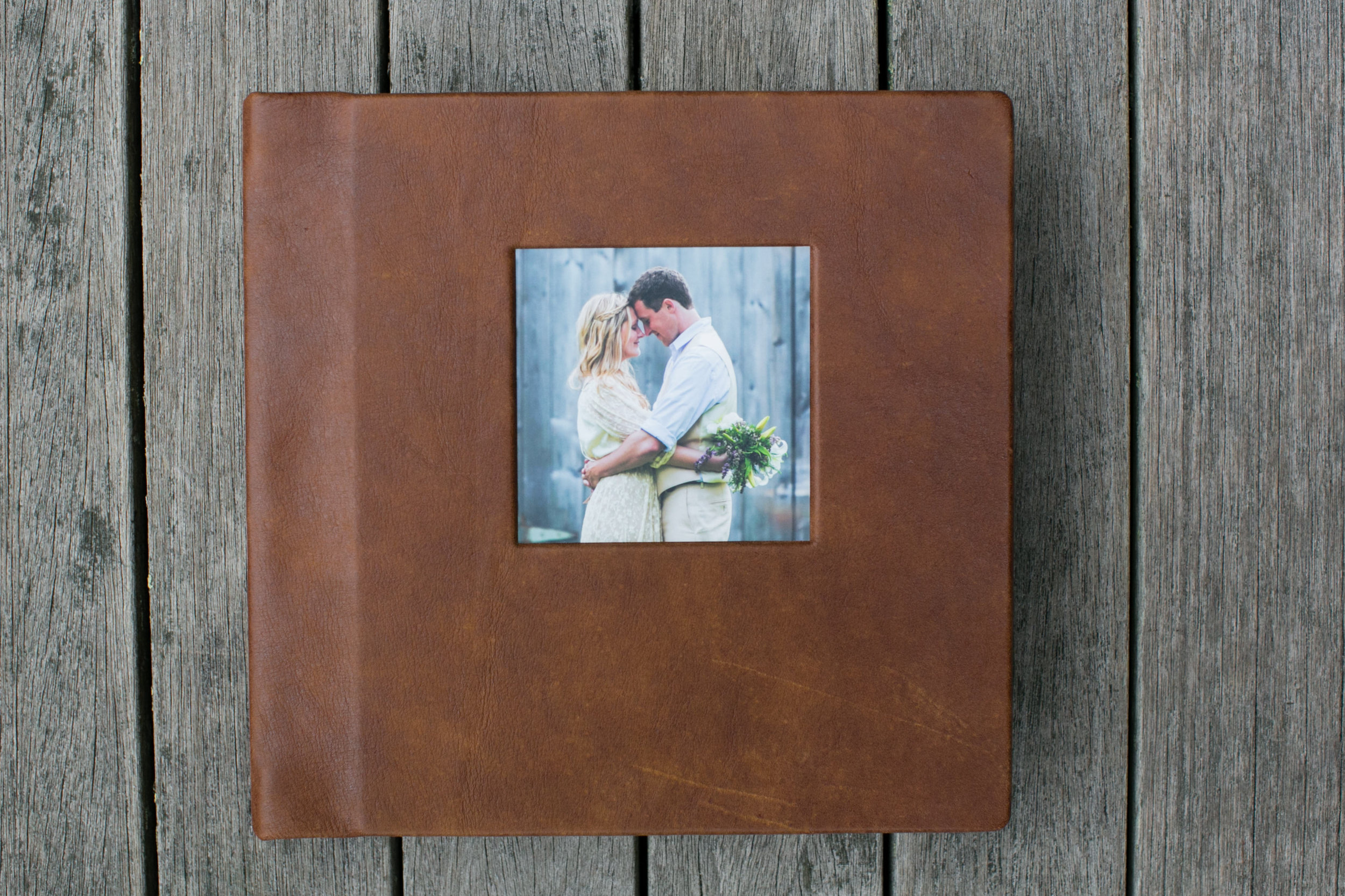 Add a cameo window to front cover $60.00