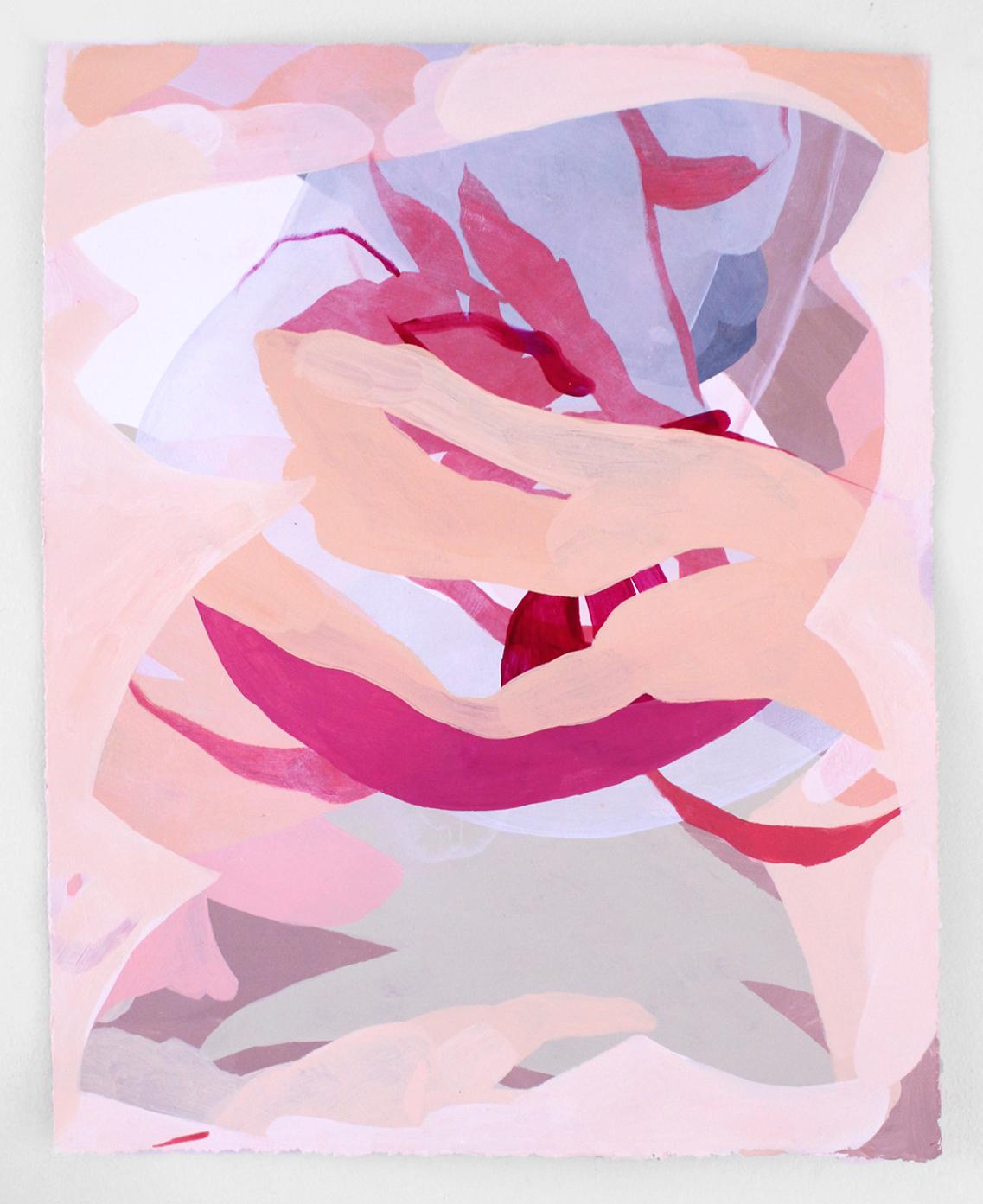 """Lush Life – Acrylic on Stonehenge Paper, 20""""x16"""" - 2016"""