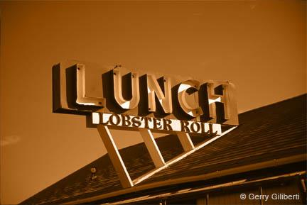 Lunch Sign by Gerry Giliberti