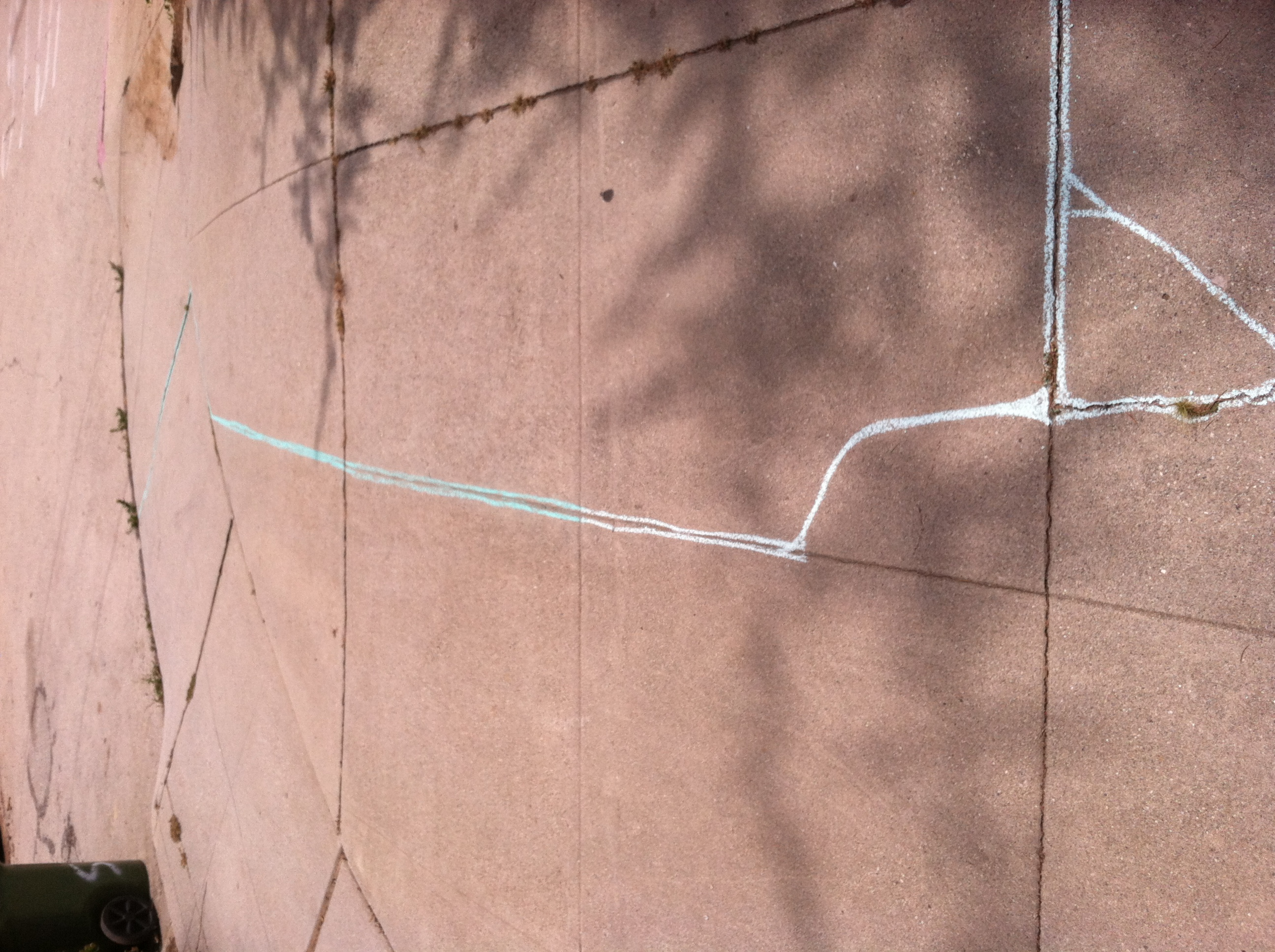 Circuits in Stone,  2013  mixed media installation  10x8'