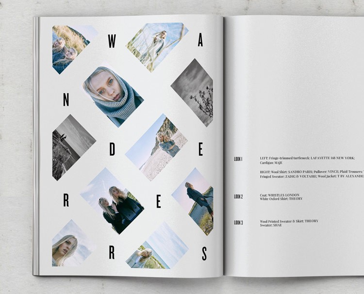 Production + Graphic Design For Material Girl Magazine
