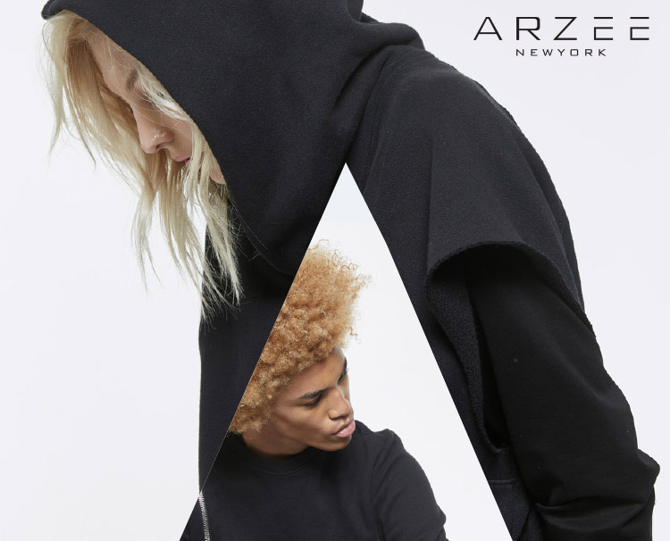 Look book Design for ARZEE, New York-based fashion company