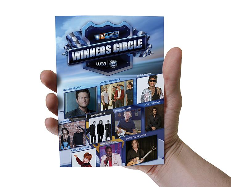 Brochure Design for Warner Music Group