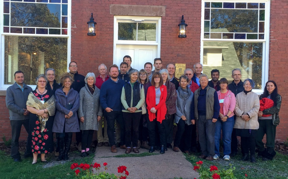 In addition to its work on rural economics, the Centre for Local Prosperity has explored climate change solutions, and organized a retreat devoted to this challenge, held last fall at the Thinkers Lodge in Pugwash, N.S., 60 years after the inaugural Pugwash Conference on Nuclear Disarmament took place there.