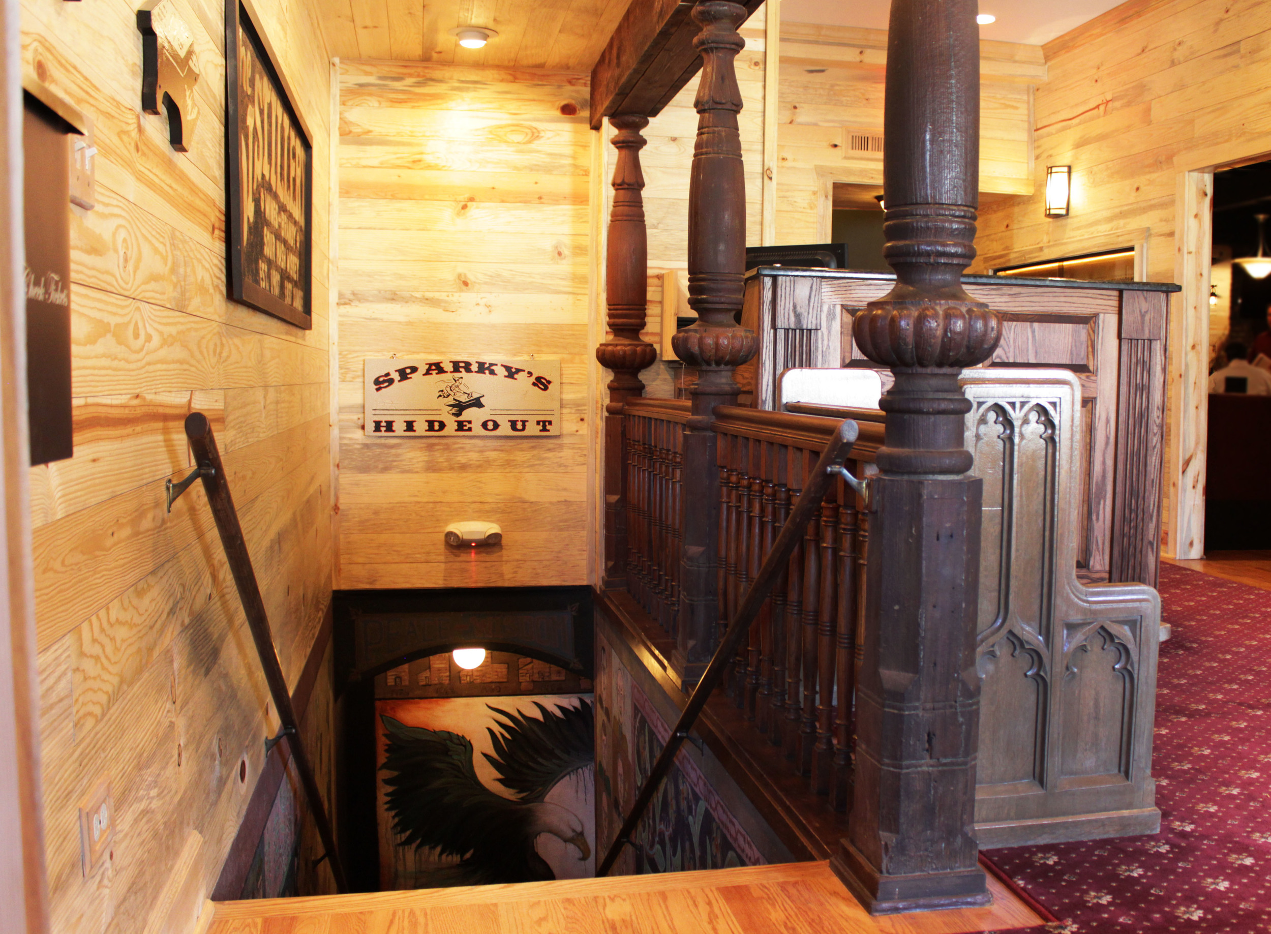 Entry way -Sparky's, Wine Lockers & Wine Cellar