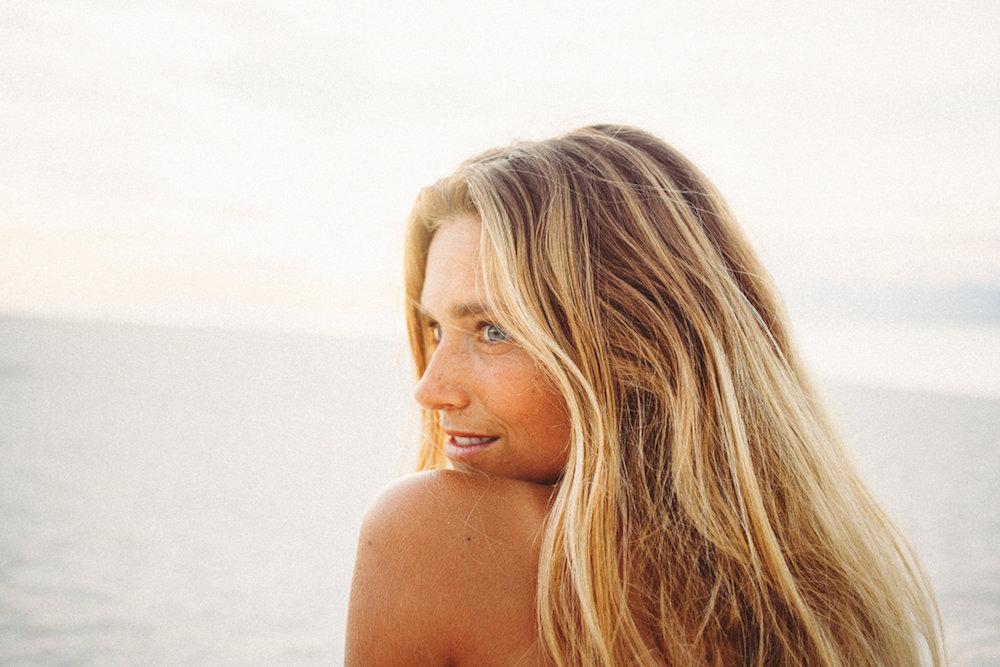 Lucia, Yoga Teacher & Surf Instructor, Algarve, Portugal & Bali, 2017. -
