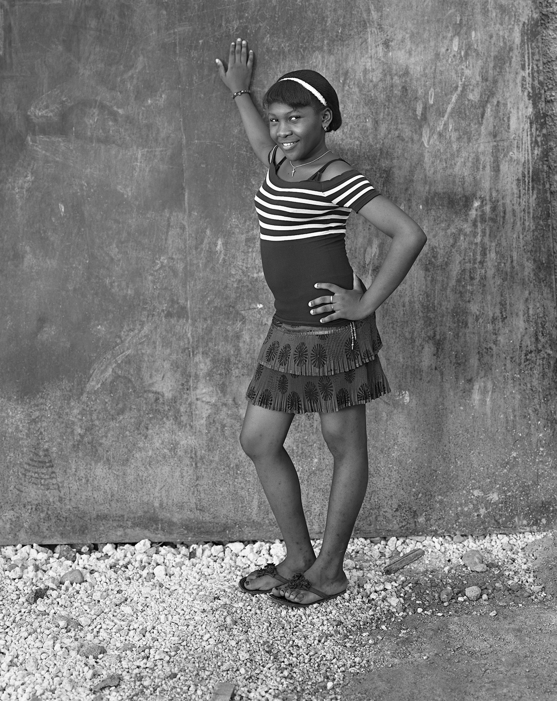 Camesuze Mondesir ( Her Pose ), Grand Rue, November 2011