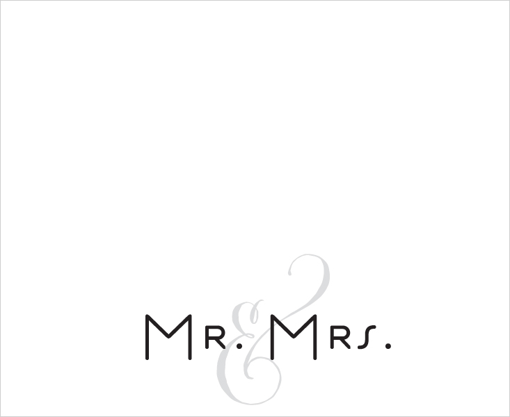 MR. AND& MRS.