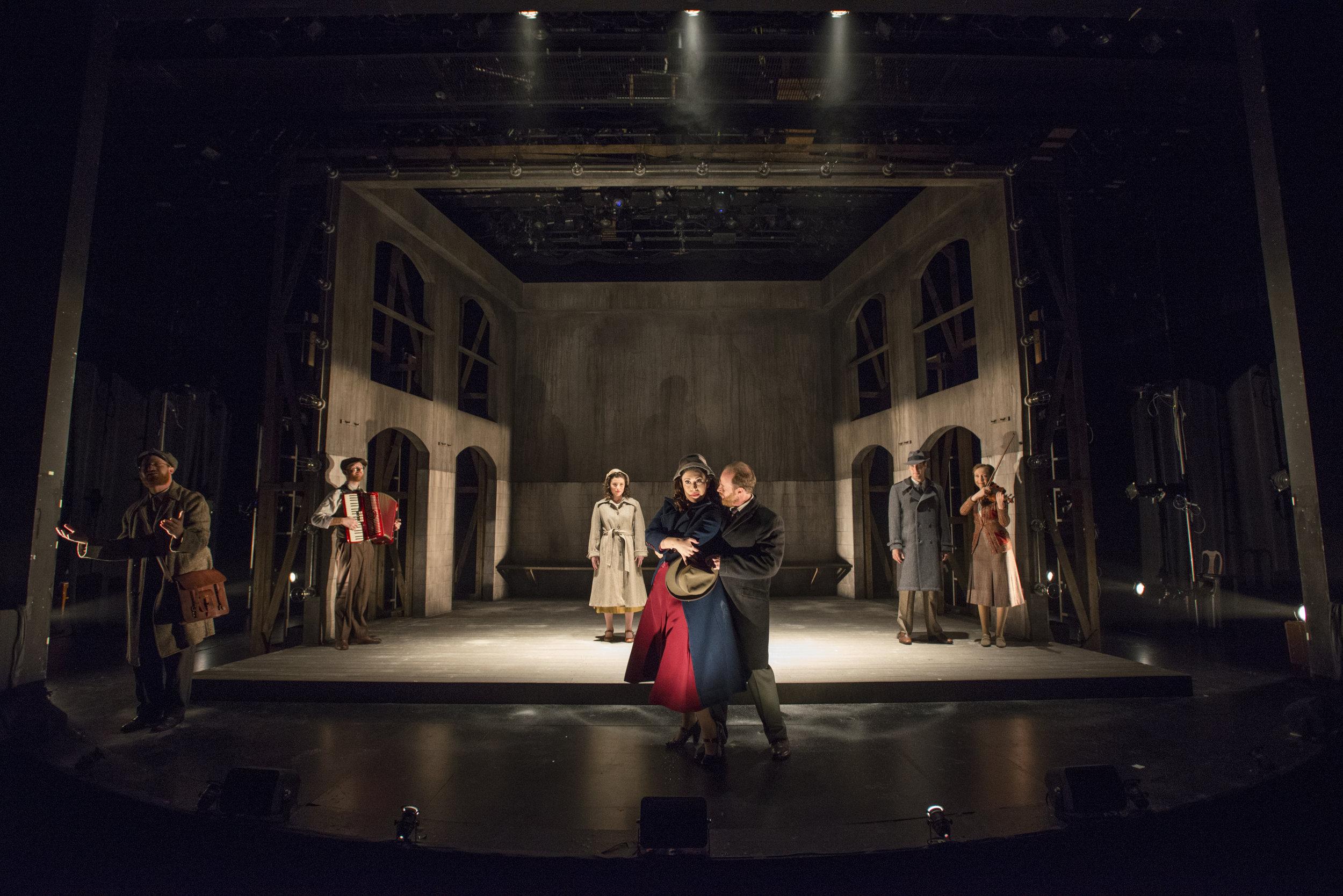 Victory Gardens Theater Director: Gary Griffin Scenery: Jeffrey D. Kmiec Costume: Mara Blumenfeld Sound: Chris LaPorte Video: Stephan Mazurek