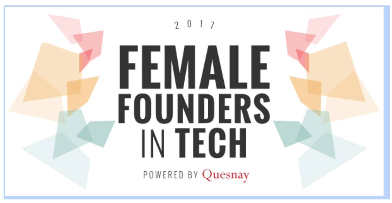 Female Founders in Tech - Powered by Quesnay