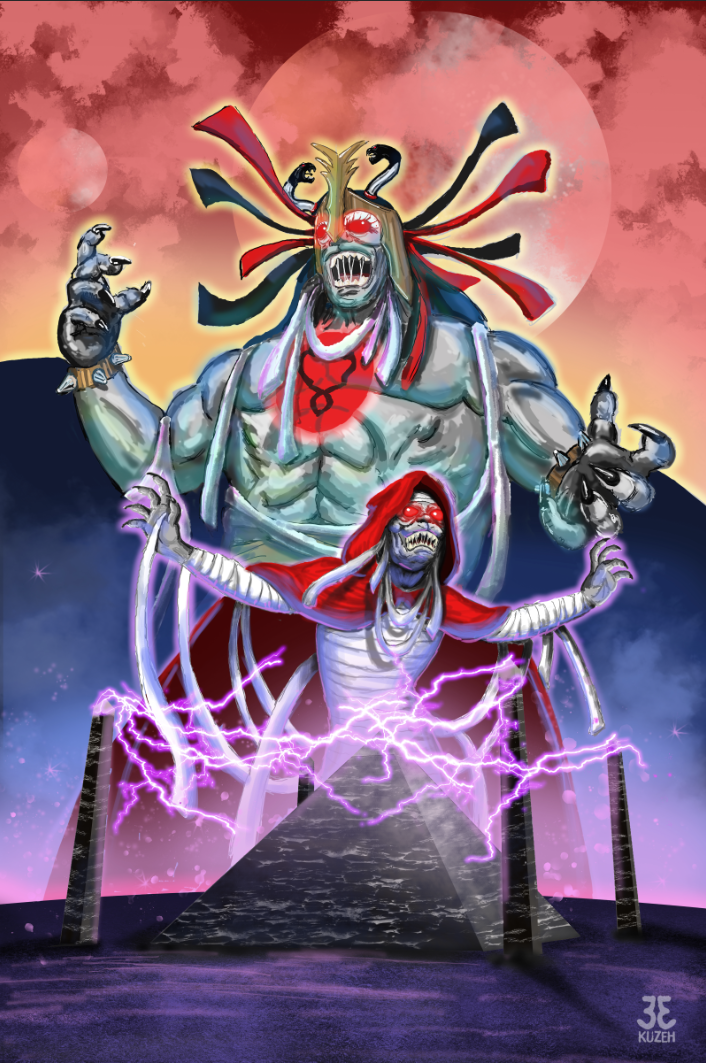Mumm-Ra Digital Illustration
