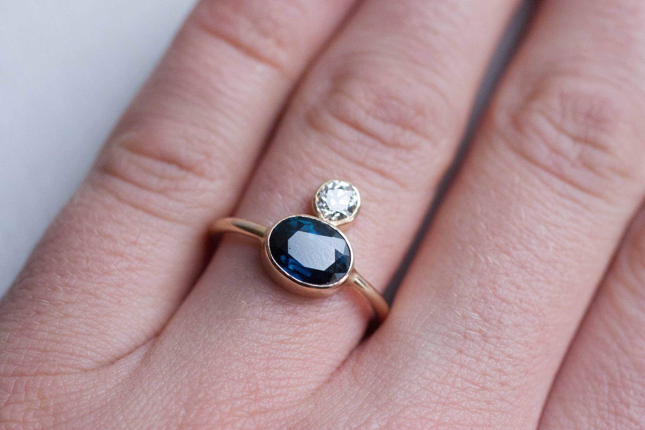 Dylan + Hannah Heirloom Sapphire Ring-7.jpg