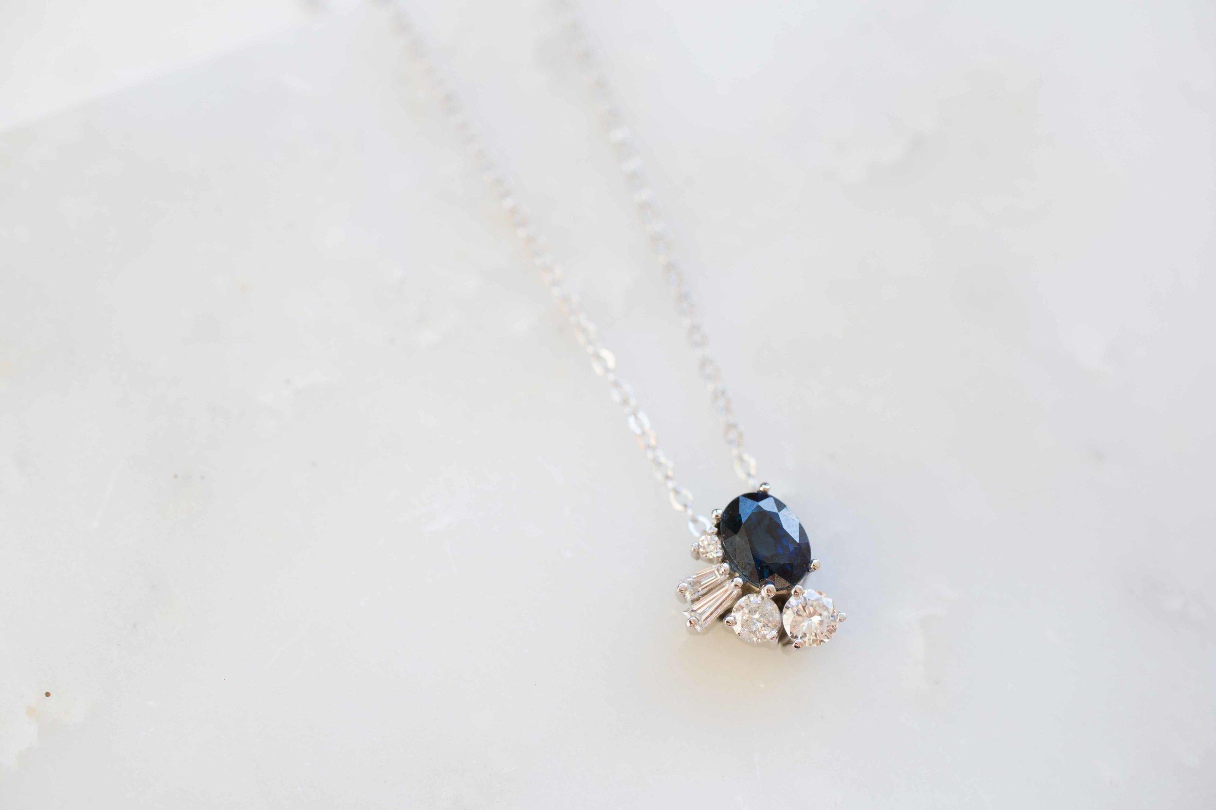 Kirstin Anderson Sapphire Diamond Cluster Necklace-5.jpg