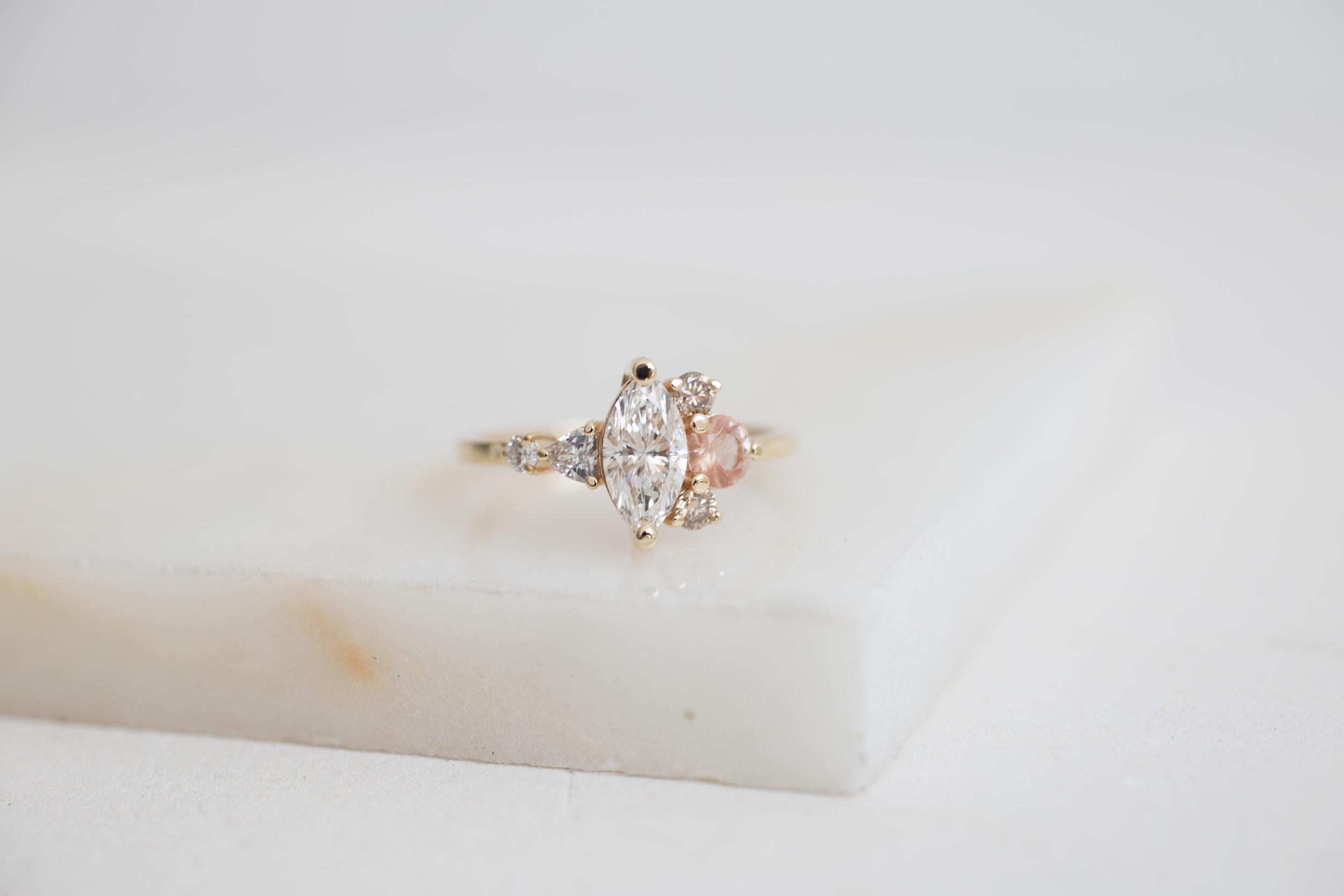 Eric + Chelcie Marquise Diamond Cluster Engagement-1.jpg