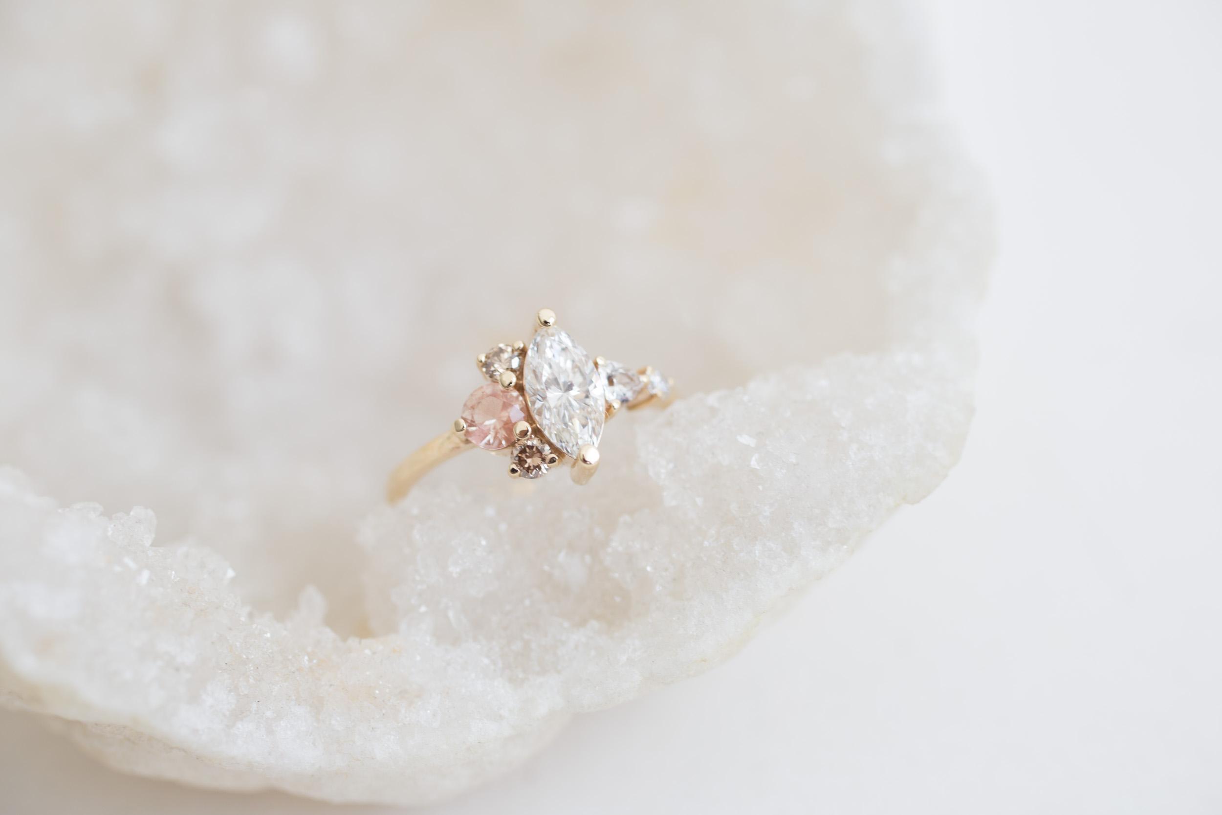 Eric + Chelcie Marquise Diamond Cluster Engagement-4.jpg