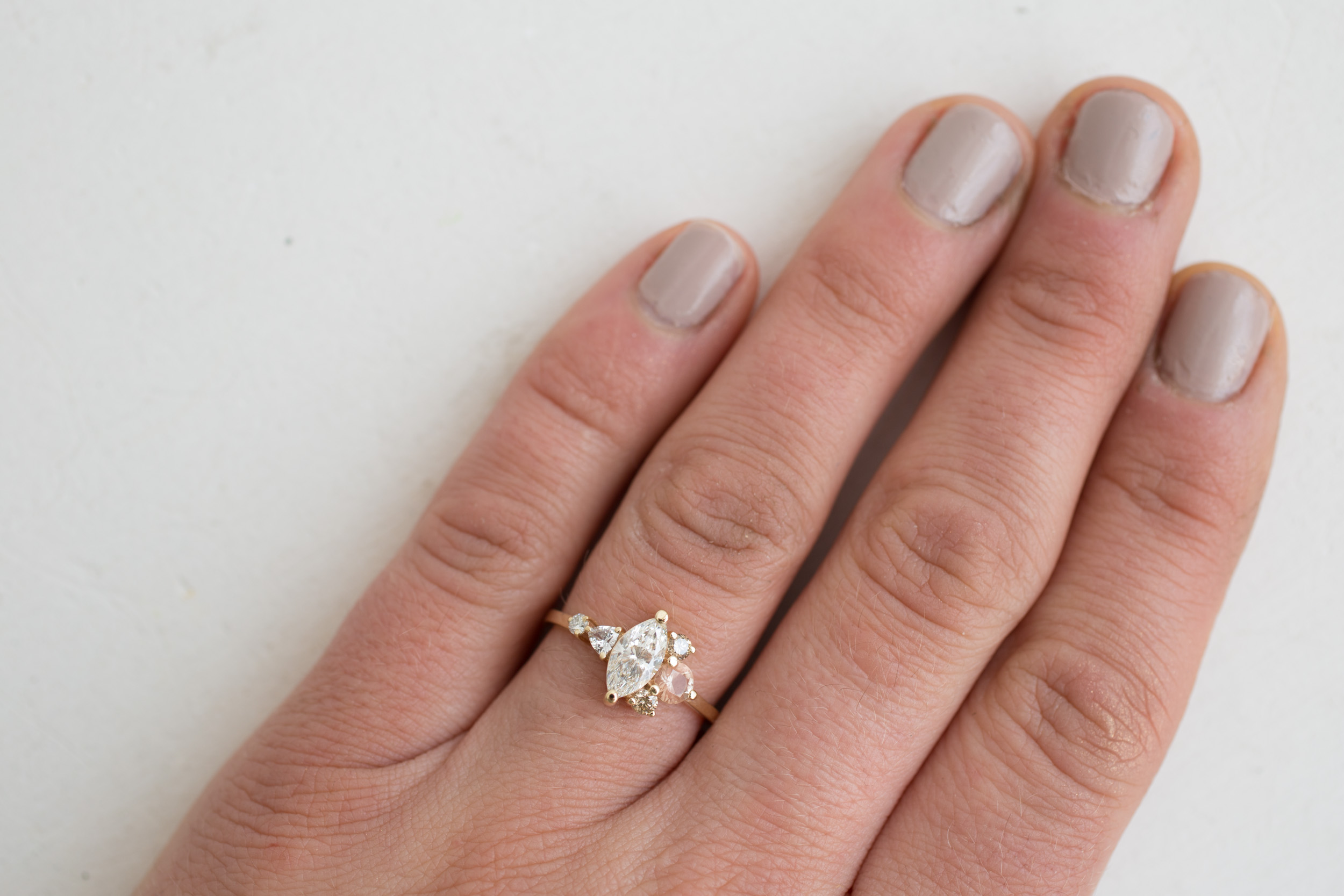 Eric + Chelcie Marquise Diamond Cluster Engagement-5.jpg