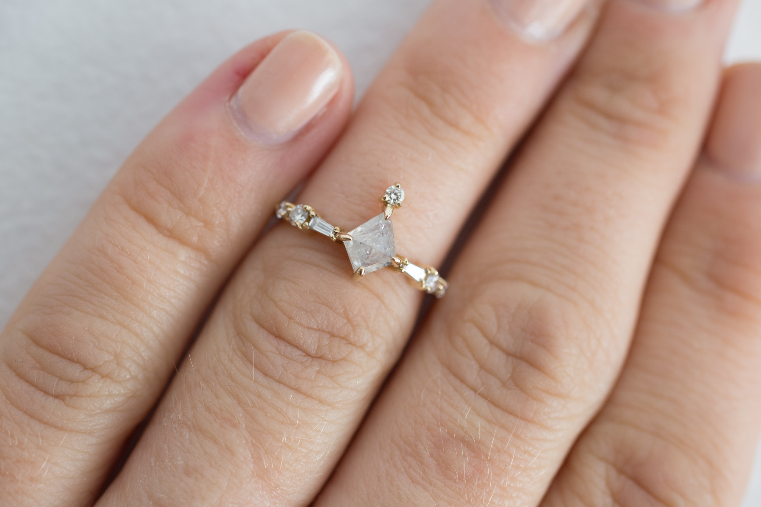 Chas + Claire Rustic Diamond Kite Cluster Ring-11.jpg