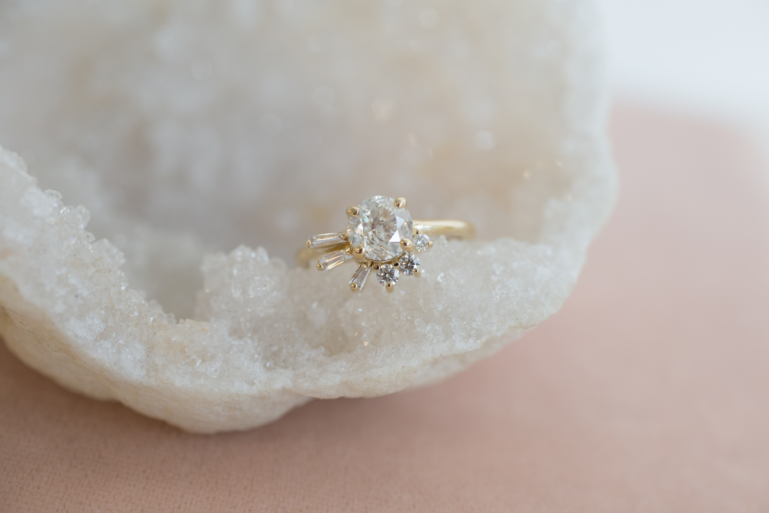 Brandi + John Heirloom Diamond Cluster Ring-1.jpg
