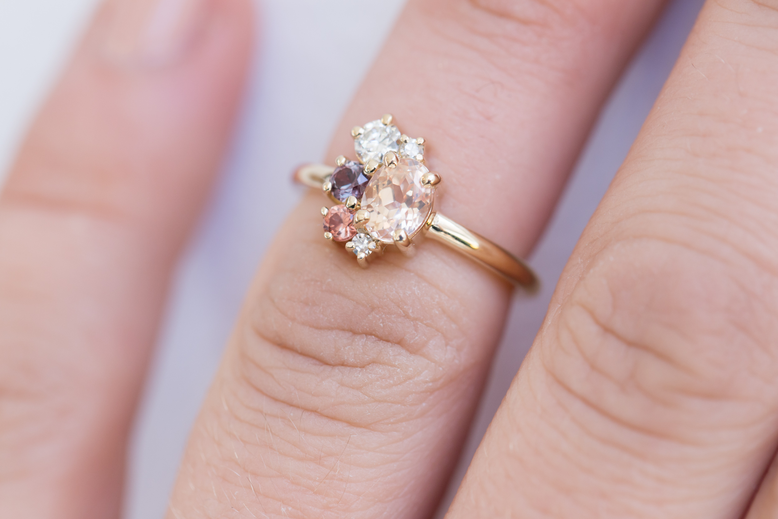 Amanda + Gerardo Sapphire Cluster Ring-5.jpg