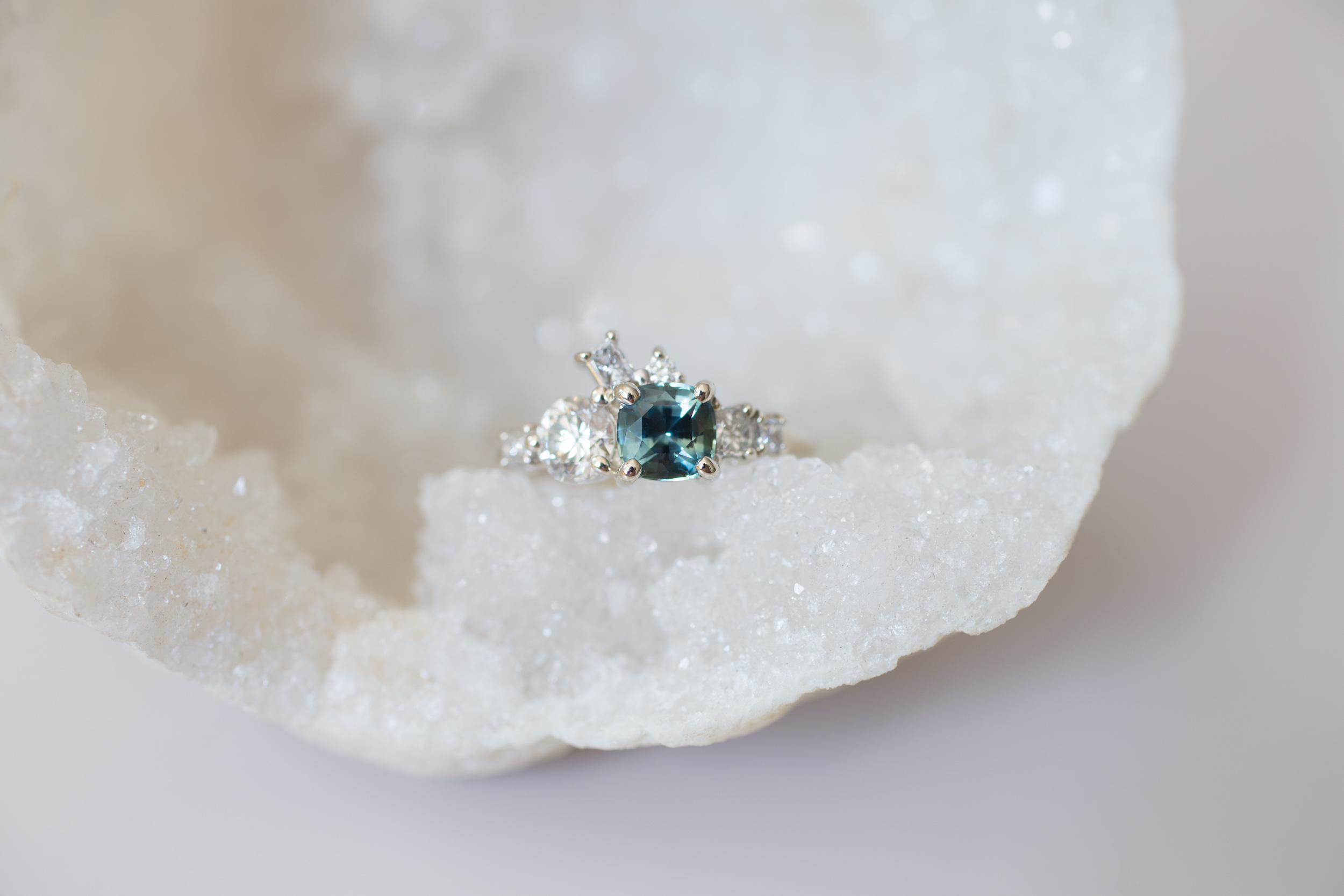 Brian + Abby Bi–color Sapphire + Heirloom Diamond Ring-1.jpg
