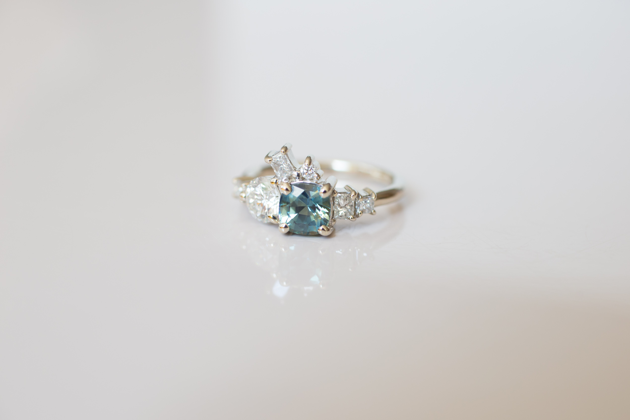 Brian + Abby Bi–color Sapphire + Heirloom Diamond Ring-6.jpg