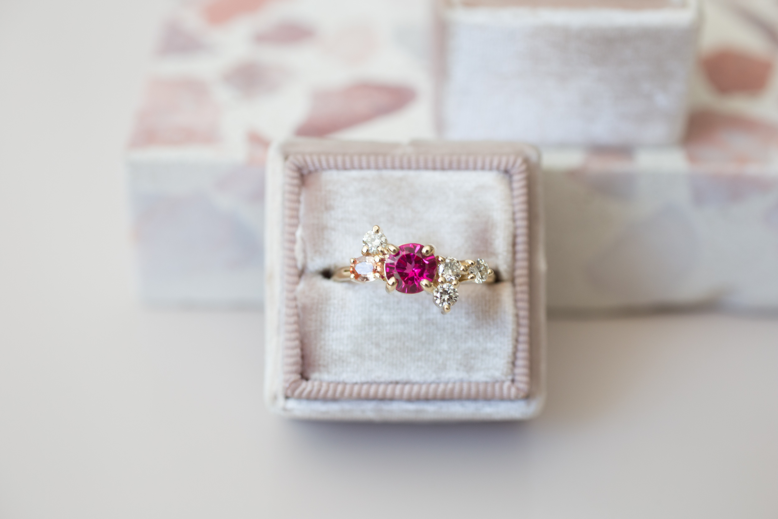 Ranjani + Deepak Heirloom Ruby and Diamond Cluster Ring-3.jpg
