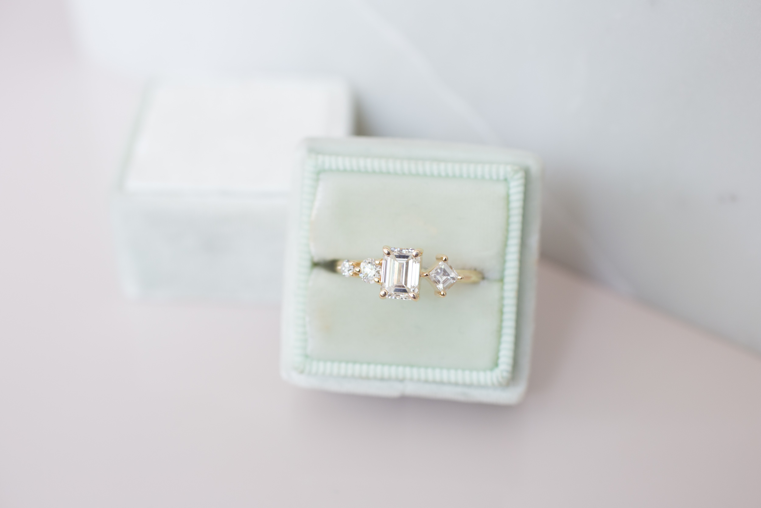 Sam + Danny Balogh Emerald Cut Diamond Line Cluster Ring-11.jpg