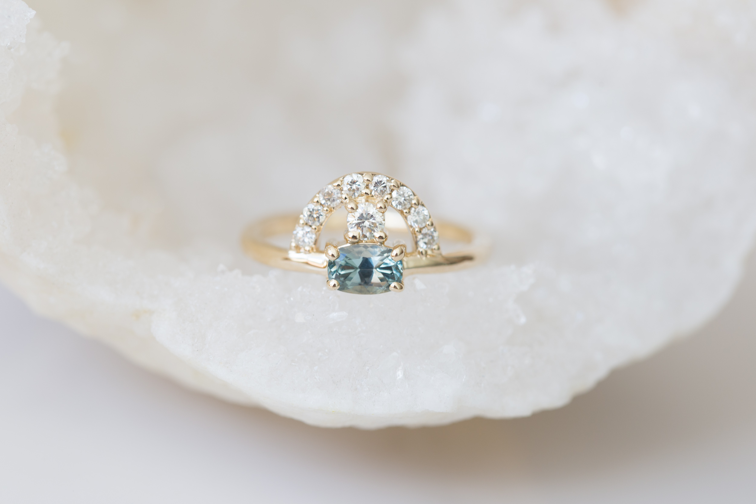 Alejandro + Jezelle Montana Sapphire Heirloom Diamond Ring-6.jpg