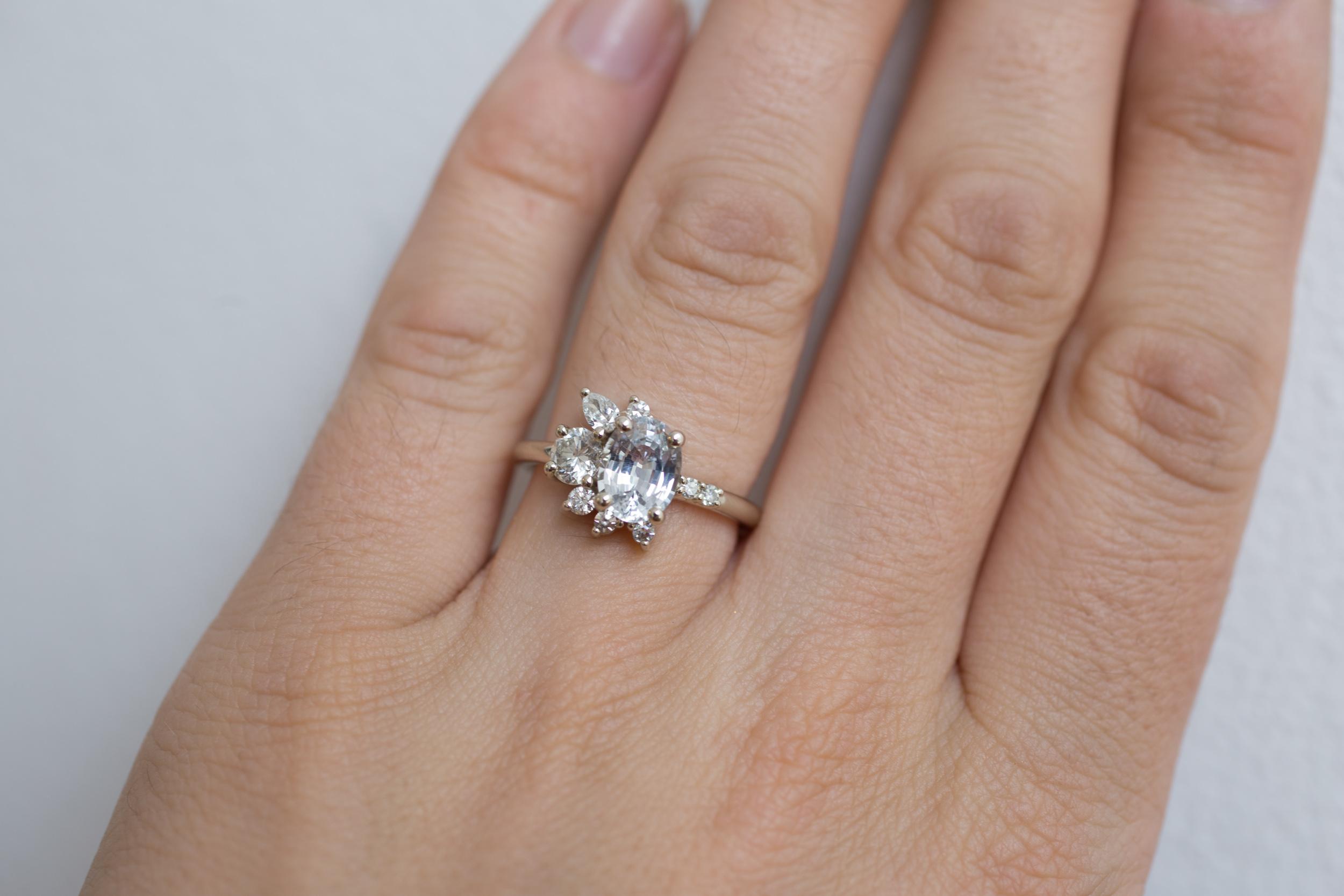Colleen + Alex Sapphire Diamond Cluster-8.jpg
