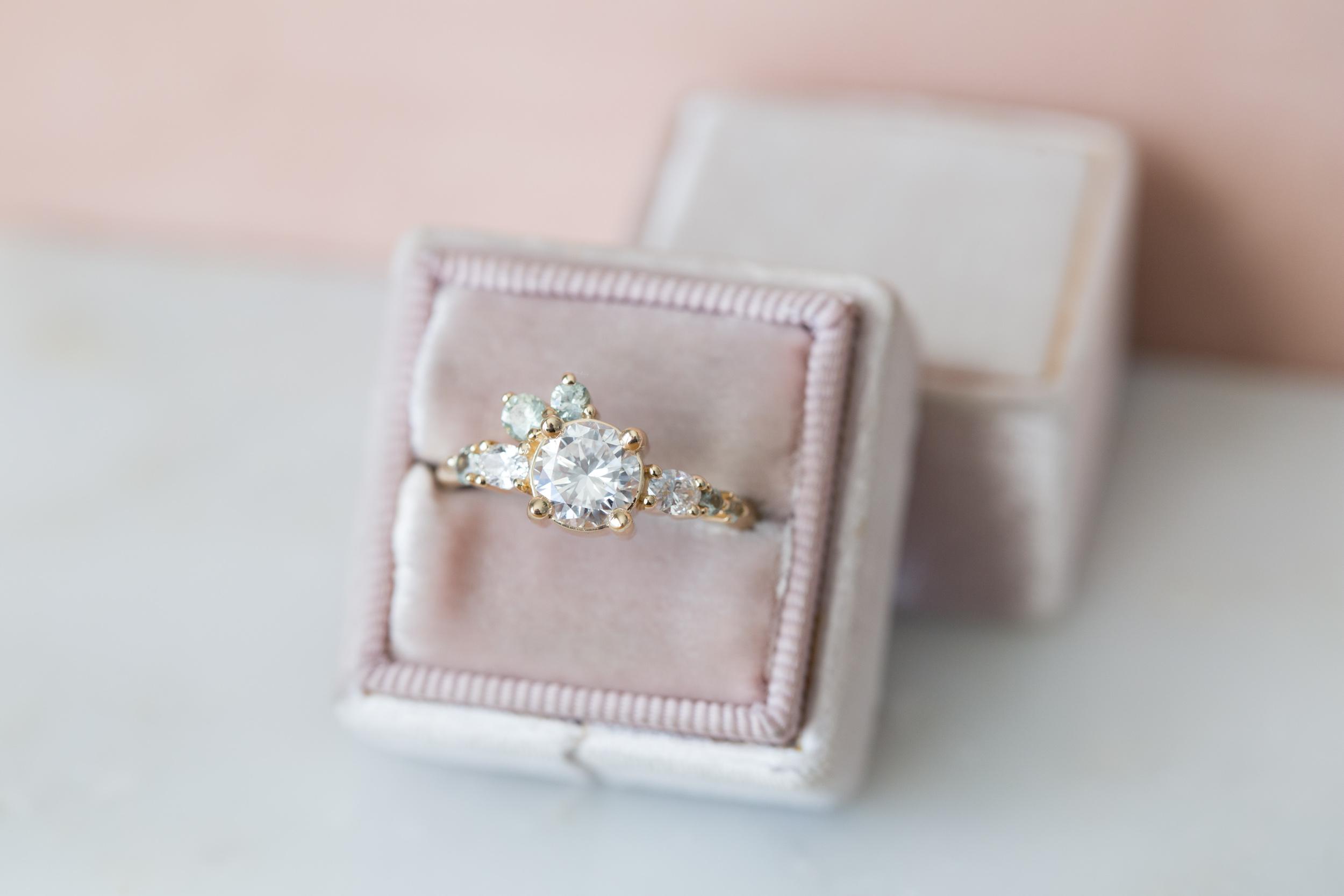 Ian + Nina Heirloom Diamond + Sapphire Cluster-6.jpg