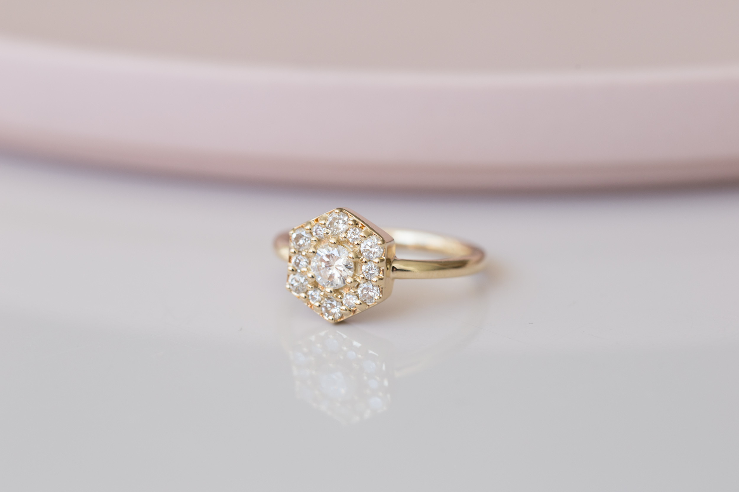 Jonathan + Kerri Heirloom Diamond Hexagon Ring-9.jpg