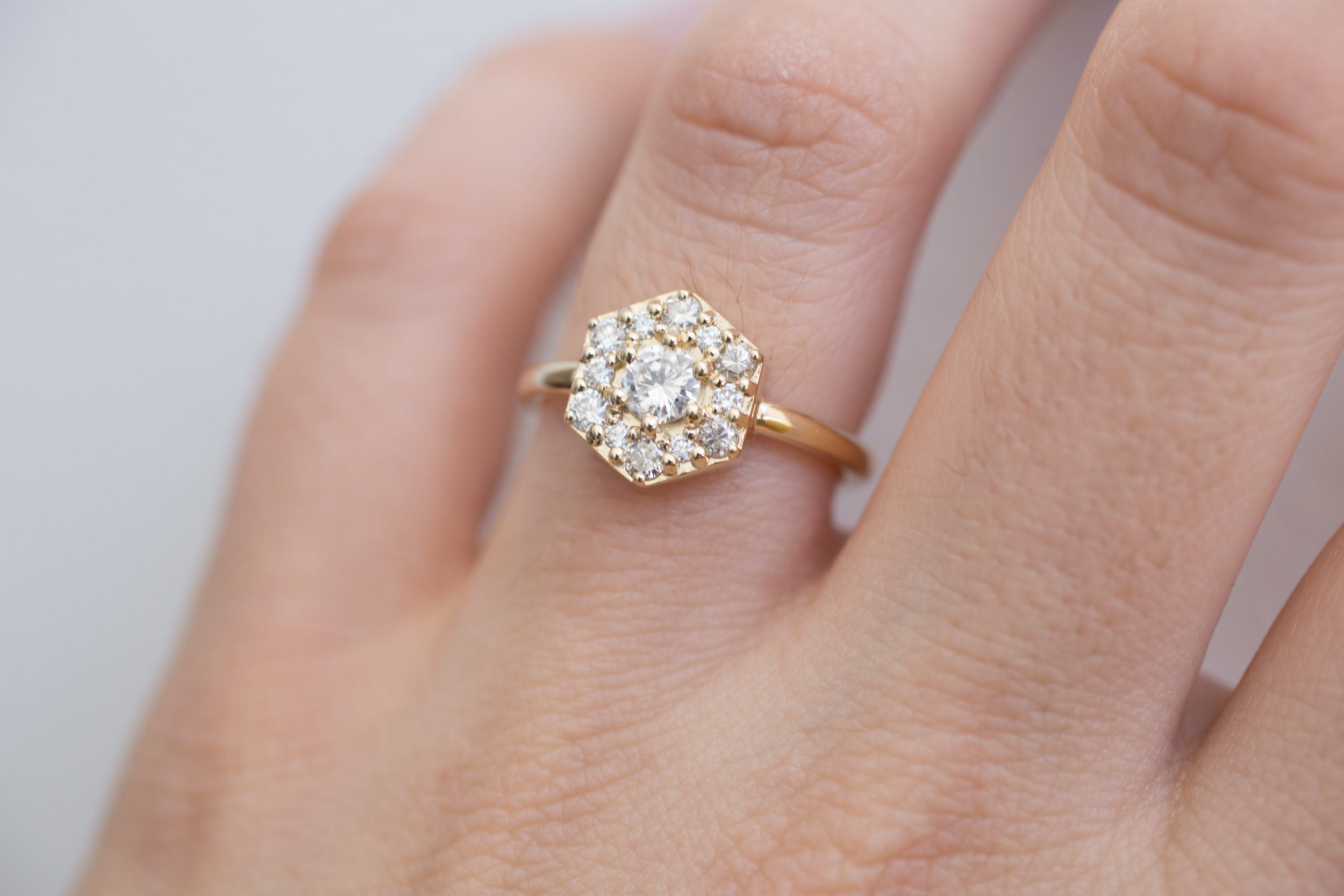 Jonathan + Kerri Heirloom Diamond Hexagon Ring-12.jpg